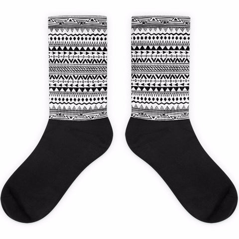 Boho Black Foot Socks | Socks | Witty Novelty