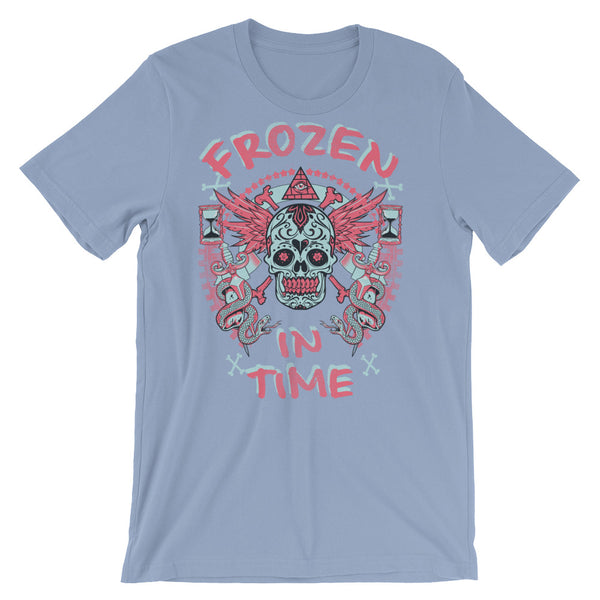 Frozen In Time Short-Sleeve Unisex T-Shirt |  | Witty Novelty