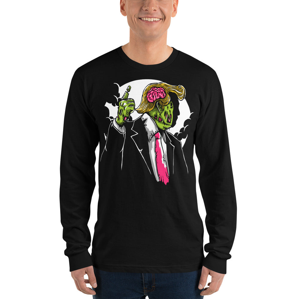 Make Zombie Great Again Long Sleeve T-shirt (unisex)