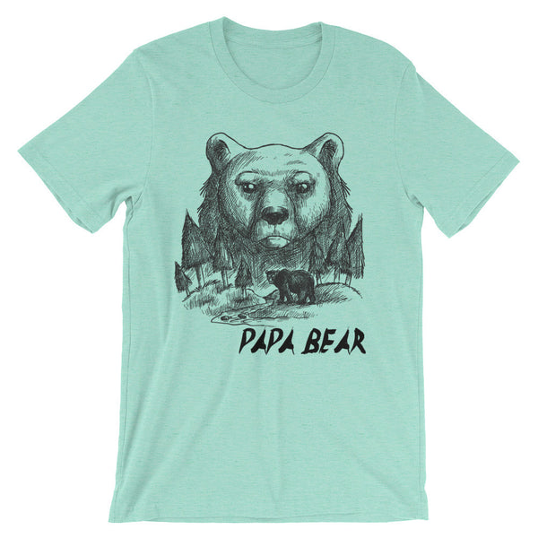 Papa Bear T-Shirt | Shirts | Witty Novelty