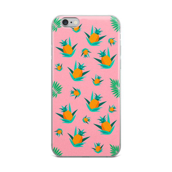 Summer Pineapples iPhone Case