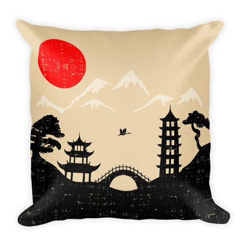 Dreaming Japan Pillow | Unique Throw Pillows | Witty Novelty