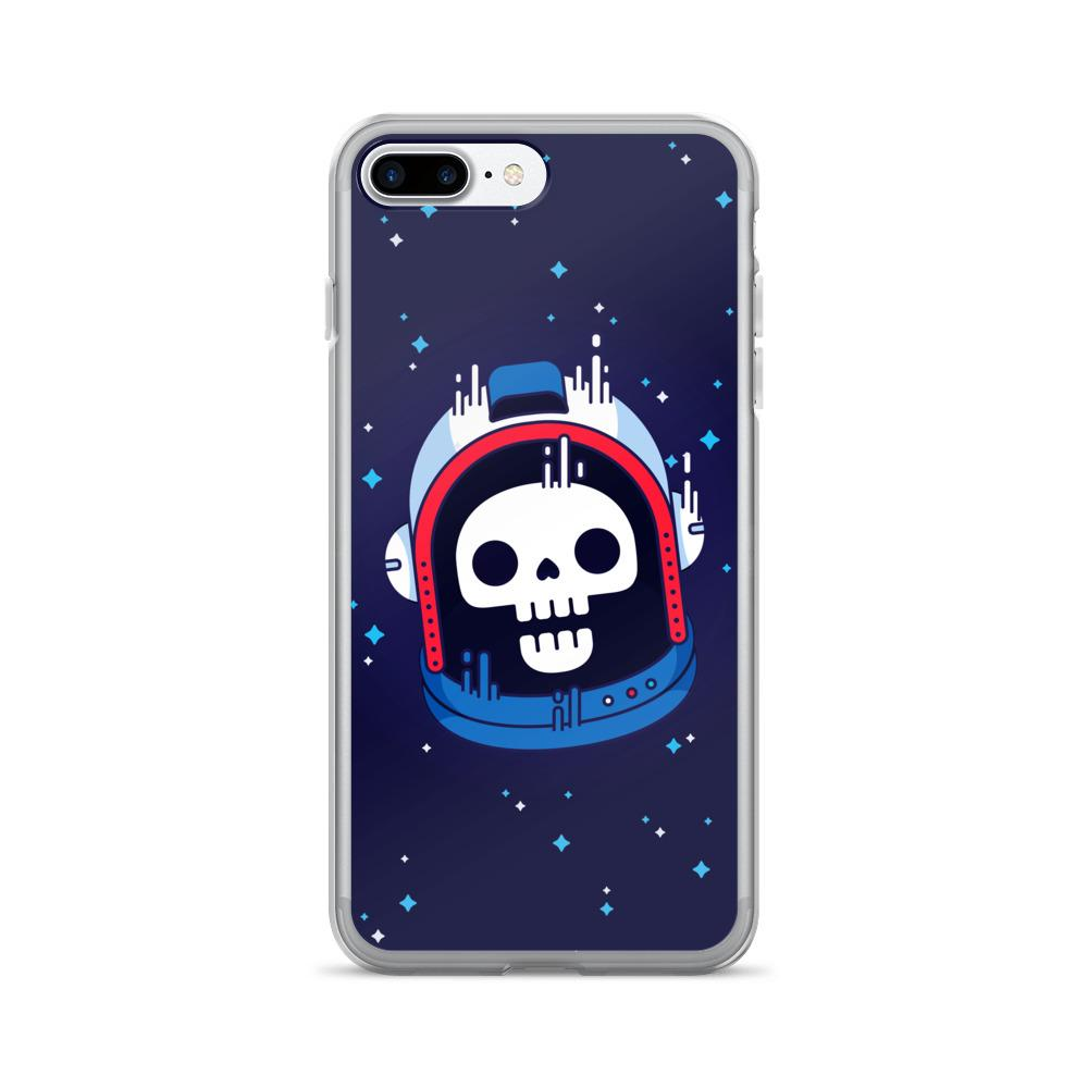 Astronaut Skull iPhone 7/7 Plus Case | Phone Case | Witty Novelty