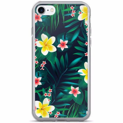 Tropical Leaves iPhone 7/7 Plus Case