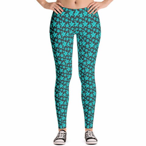 Cool Stars Star Pattern Leggings