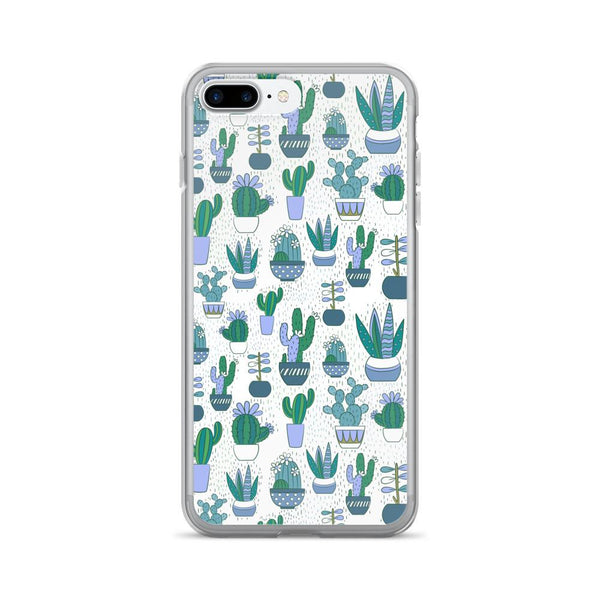 Cute Cactus Pattern iPhone 7/7 Plus Case | Phone Case | Witty Novelty
