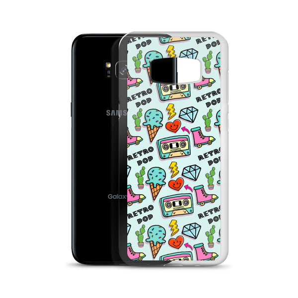 Retro Pop Samsung Case