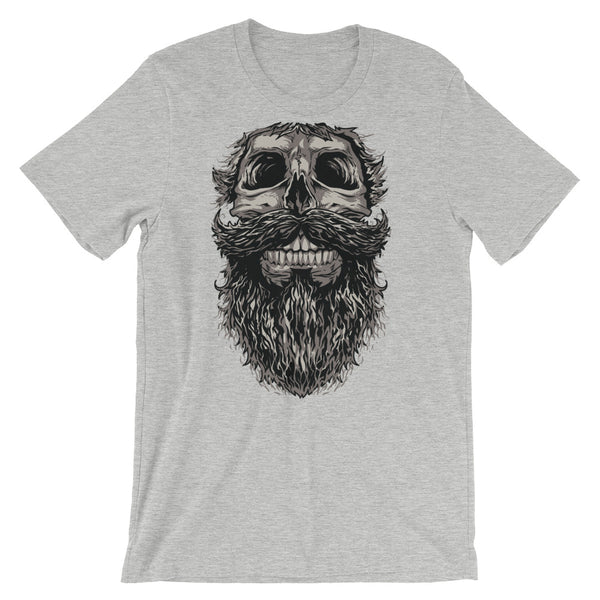 Skull Beard Short-Sleeve Unisex T-Shirt