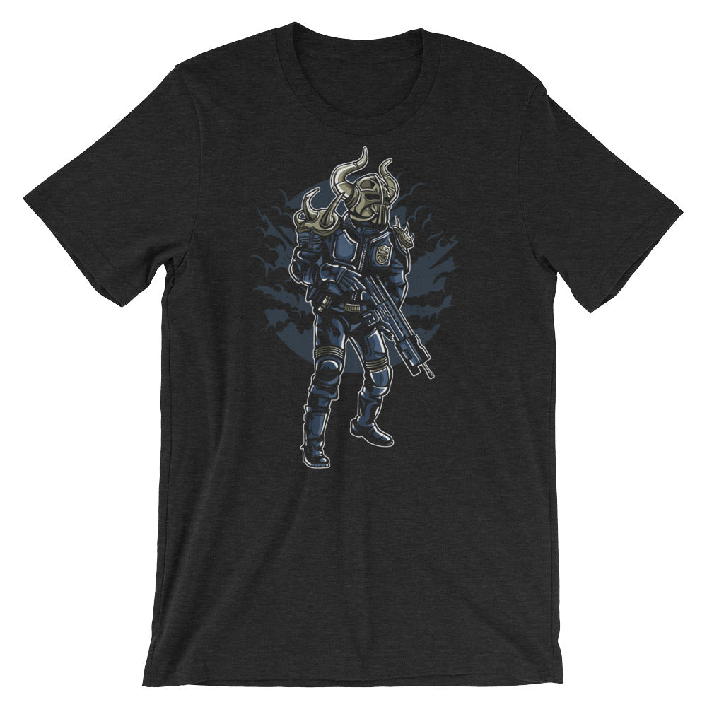 Viking Soldier from Future Short-Sleeve Unisex T-Shirt