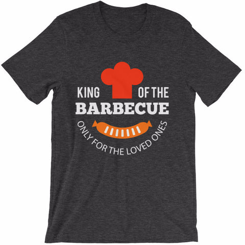 King Of The Barbecue Father's Day Unique Gift T-Shirt | Shirts | Witty Novelty