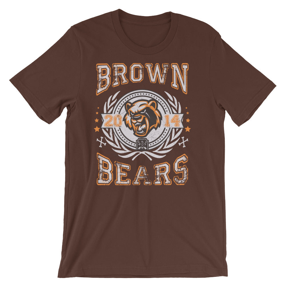 Brown Bears Short-Sleeve Unisex T-Shirt