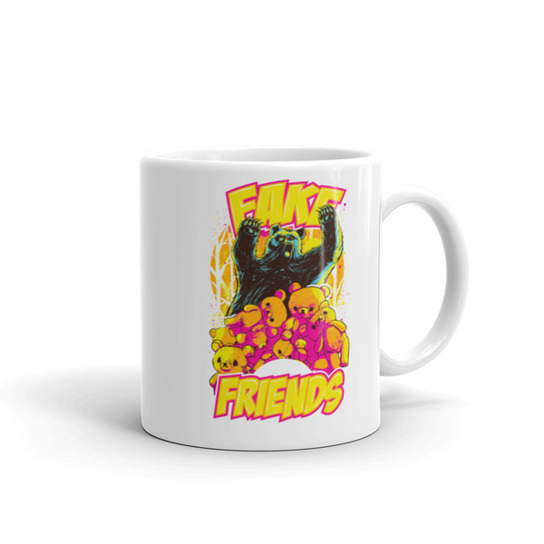 Fake Friends Mug | Cool Gifts & Fun Mugs | Witty Novelty