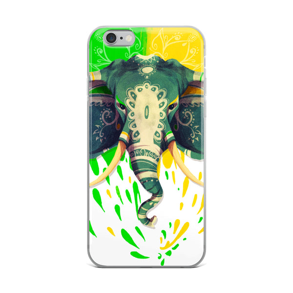 The Magnificent Elephant iPhone Case
