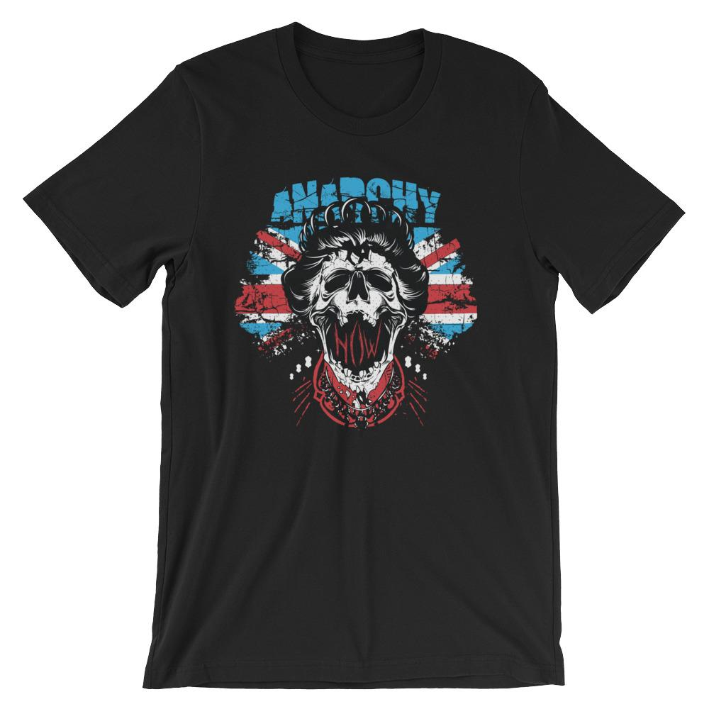Anarchy Queen Short-Sleeve Unisex T-Shirt |  | Witty Novelty
