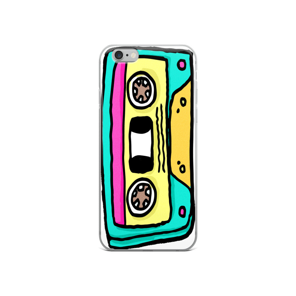 Retro Cassette iPhone Case
