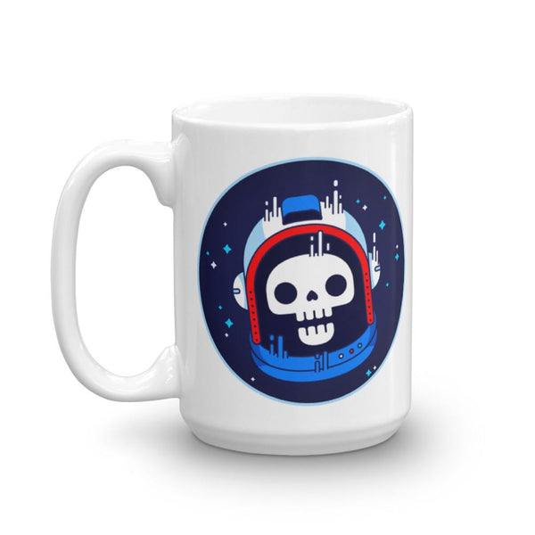 Astronaut Skull Mug | Cool Gifts & Fun Mugs | Witty Novelty