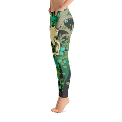 Deer Skull Leggings | Leggings | Witty Novelty