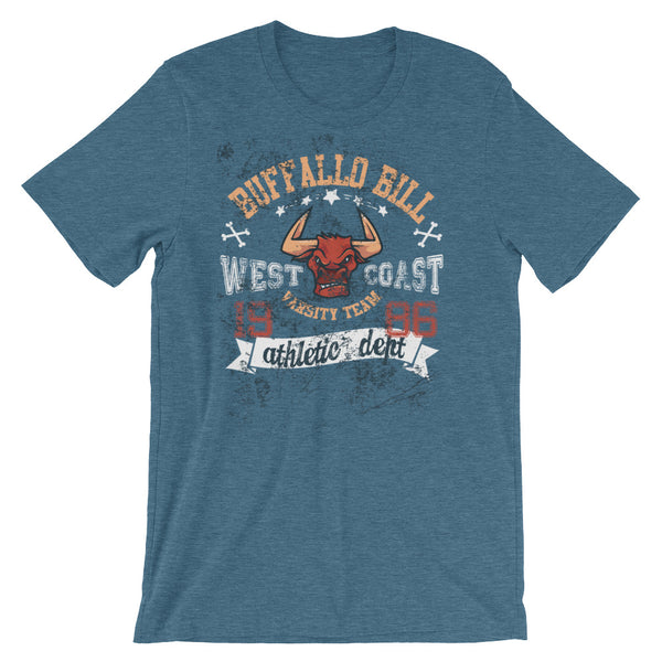 Buffallo Bill West Coast Short-Sleeve Unisex T-Shirt |  | Witty Novelty