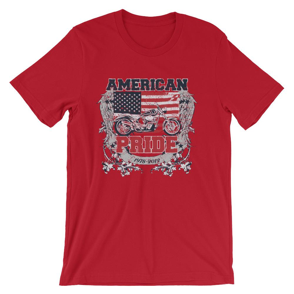 American Pride Short-Sleeve Unisex T-Shirt |  | Witty Novelty