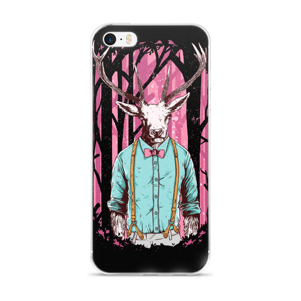 Hipster Deer iPhone Case / All iPhone Models | Phone Case | Witty Novelty