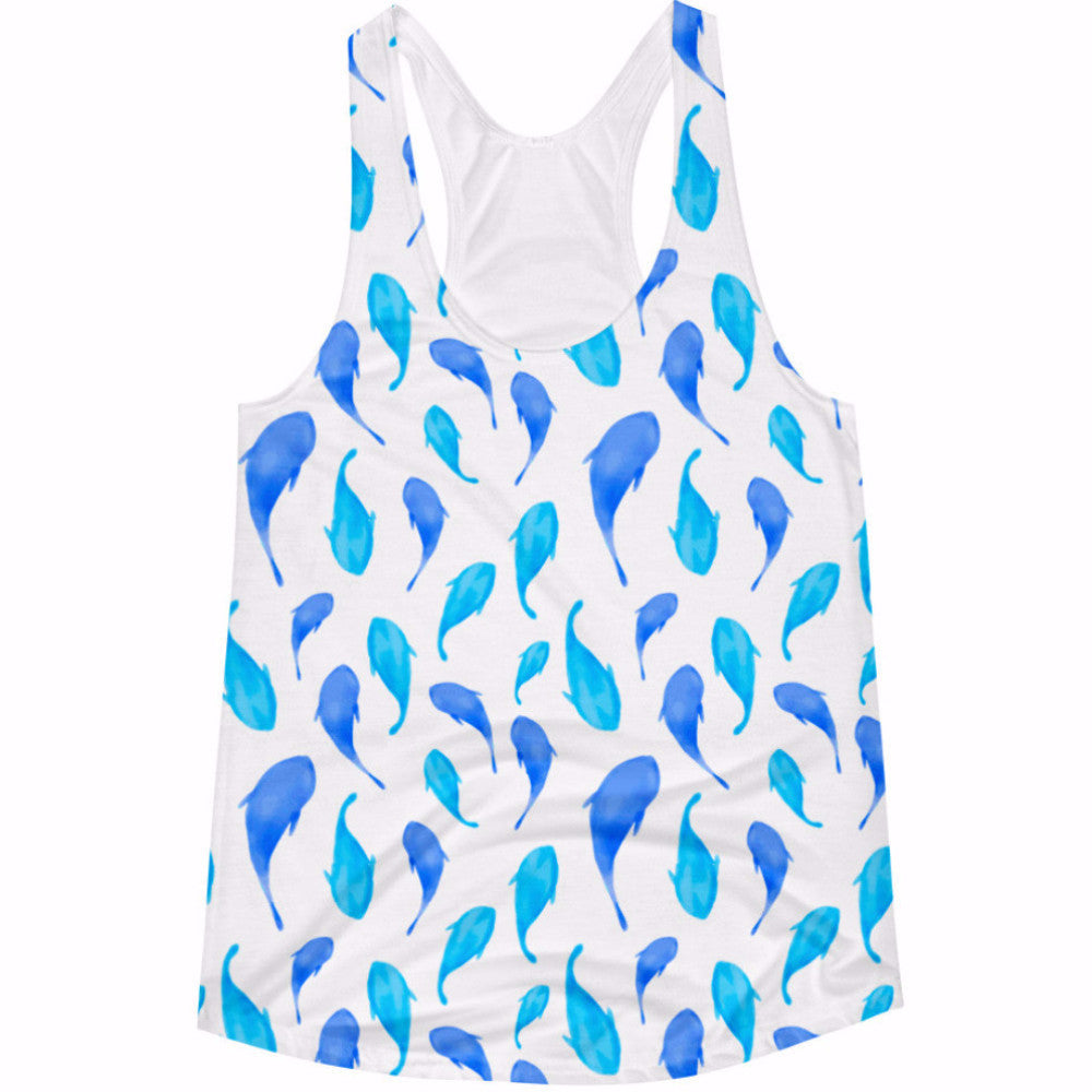 Flying Dolphins Women's Tank Top
