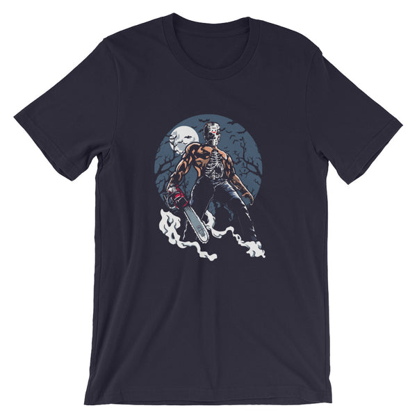 Evil Chainsaw Killer Short-Sleeve Unisex T-Shirt |  | Witty Novelty
