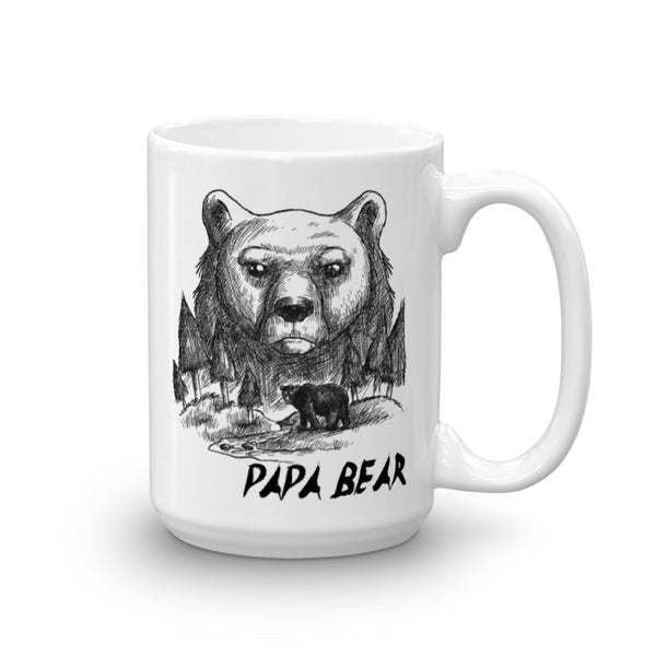 Papa Bear Mug | Cool Gifts & Fun Mugs | Witty Novelty