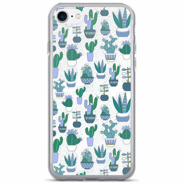 Cute Cactus Pattern iPhone Case | Phone Case | Witty Novelty