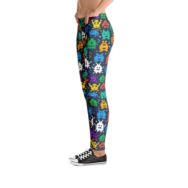 Pixel Monsters Leggings | Leggings | Witty Novelty