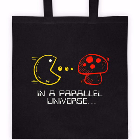 In A Parallel Universe Cotton Canvas Tote Bag | Unique Bags & Unisex Gifts | Witty Novelty