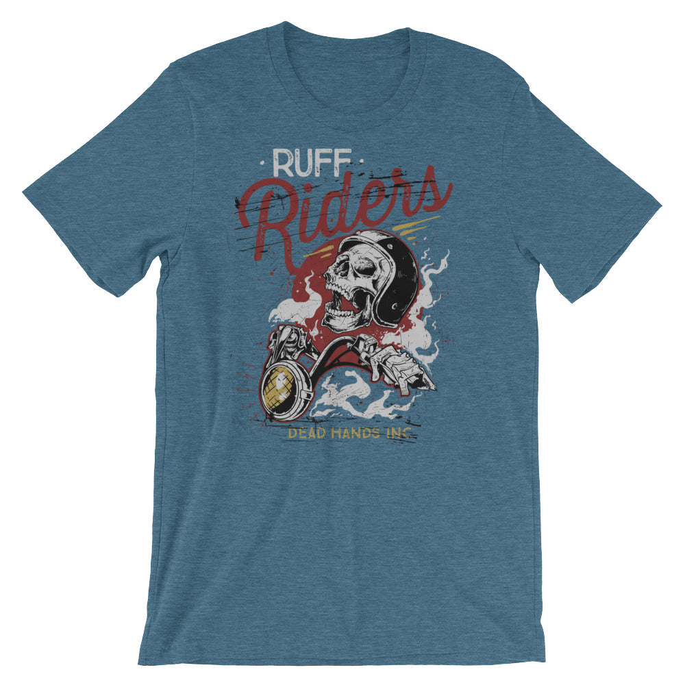 Ruff Riders Dead Hands Short-Sleeve Unisex T-Shirt |  | Witty Novelty