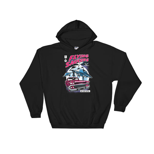Flying Saucers Hoodie | Hoodies | Witty Novelty