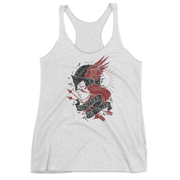 The Valkyrie Remember The Fallen Women's Racerback Tank