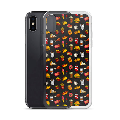 Fast Food Madness iPhone Case | Phone Case | Witty Novelty