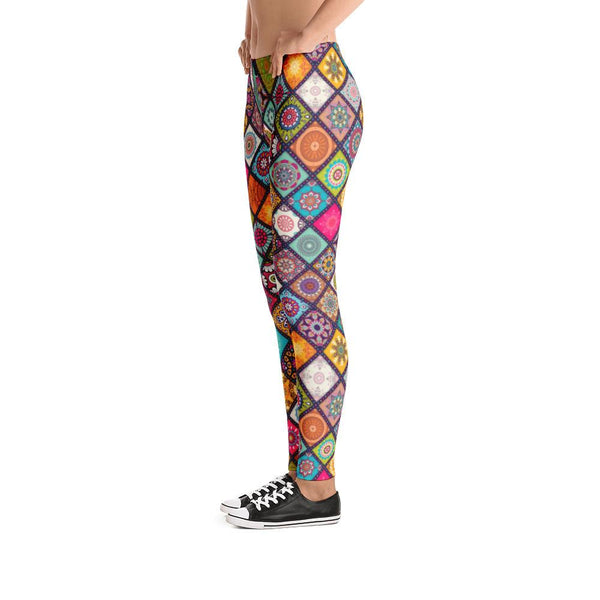 Colorful Mandala Leggings | Leggings | Witty Novelty