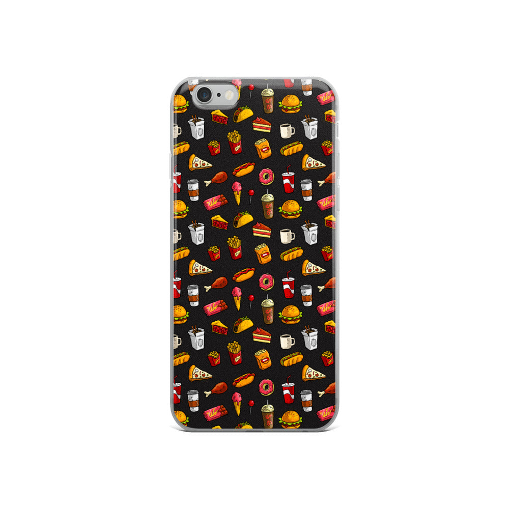 Fast Food Madness iPhone Case