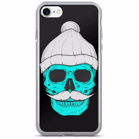 Skull With A Beanie iPhone 7/7 Plus Case | Phone Case | Witty Novelty