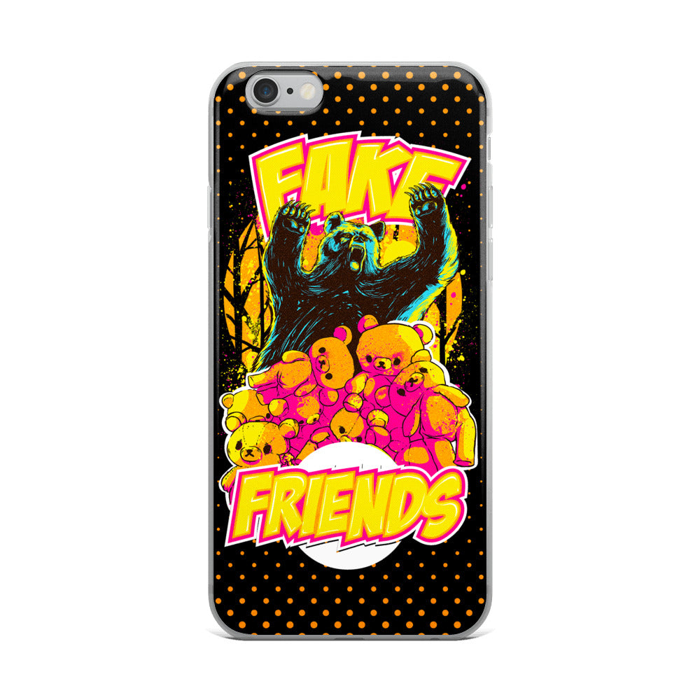 Fake Friends iPhone Case
