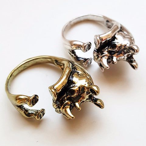 Rhino Ring | Animal Jewelry & Cute Gifts | Witty Novelty