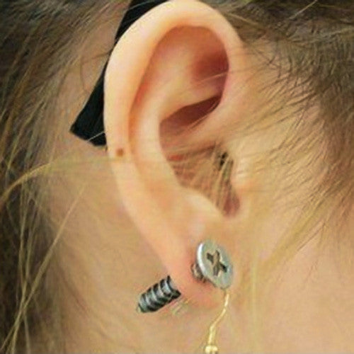 Screw-My-Ear Earrings | Unique Jewelry & Unisex Gifts | Witty Novelty