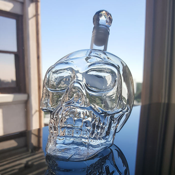 Skull Decanter | Fun Bar & Party Accessories | Witty Novelty