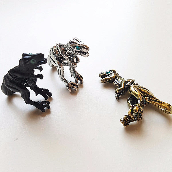 T-Rex Earrings | Geek Jewelry & Animal Jewelry | Witty Novelty