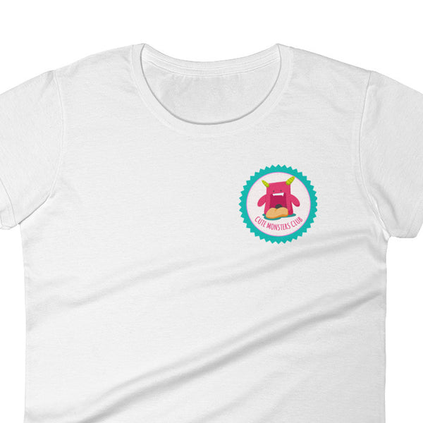 Witty Novelty Cute Monsters Club Women's T-Shirt | Shirts | Witty Novelty