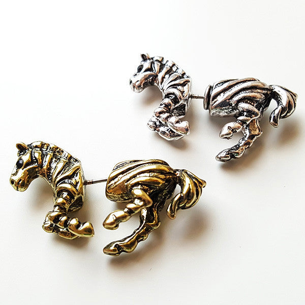 Zebra Earrings | Cute Gifts & Animal Jewelry | Witty Novelty