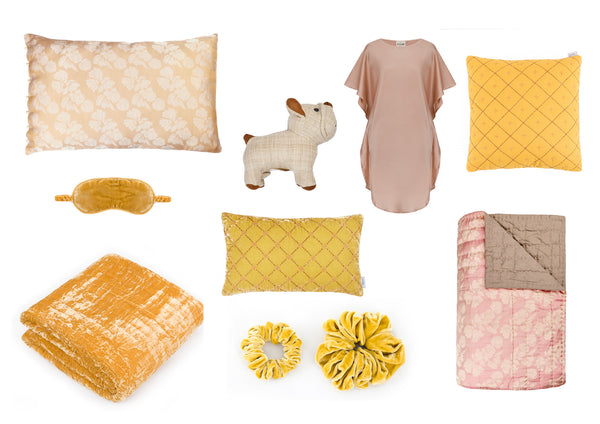 Slash of colour to brighten your home - Yellow decor