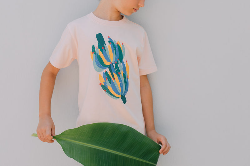Organic Cotton T shirt Banana Bunch