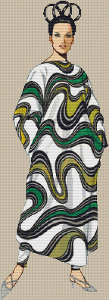 1967 Rudi Gernreich Silk Dress
