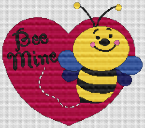 Bumble Bee Mine - Pattern and Print