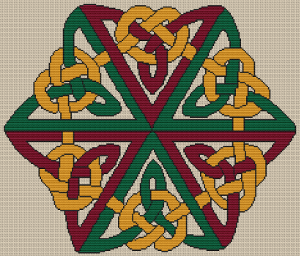 Celtic Design 4 - Pattern and Print
