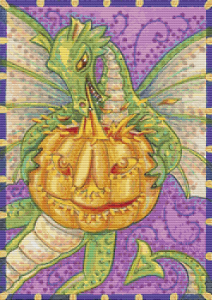 Dragon Lighting Pumpkin